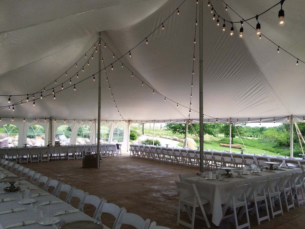 Long Island Tent Lighting Rental Event Tent Lighting